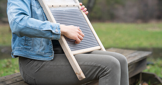 how to play the washboard as a musical instrument. Black Bedroom Furniture Sets. Home Design Ideas