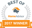 HomeAdvisor 2017 Best of winner