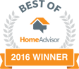 HomeAdvisor 2016 Best of winner