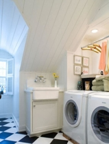 Washer & Dryer in Laundry Room