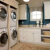 2 Washers & 2 Dryers in Laundry Room