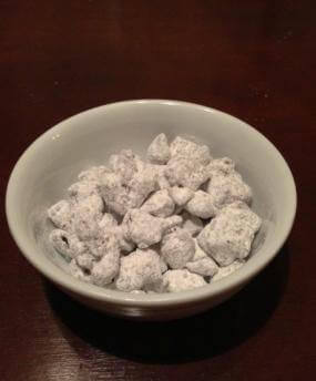Bowl of Grown-Up Puppy Chow
