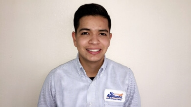Julian Rodriguez, Mr. Appliance Certified Master Technician