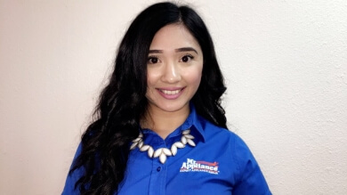 Rocio Gonzalez, Mr. Appliance Customer Service Representative