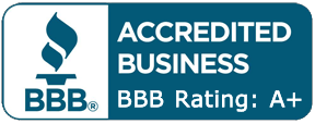 BBB Accredited Business Rating: A+